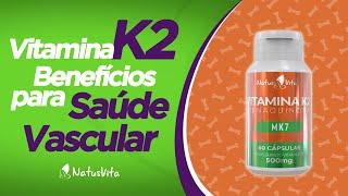 K2 mk7 é a segura vitamina