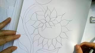 Como Dibujar Un Girasol Facilmente Sonia R A By Arte Y Pintura