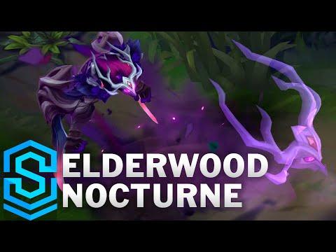 Elderwood Nocturne Skin Spotlight - League of Legends