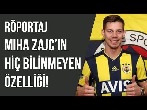 Fenerbahçeli Miha Zajc'ın Bilinmeyen Özellikleri | Röportaj