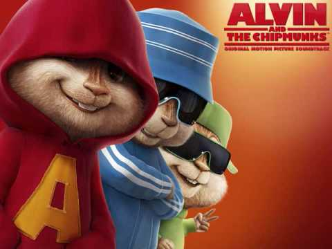 Alvin and the Chipmunks- butterflies