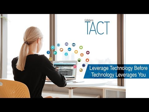 Leverage technology before technology leverages You - Emerging Technology Training By Collabera TACT
