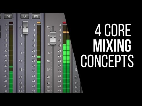 4 Core Concepts You Must Know To Mix On Any DAW – RecordingRevolution.com