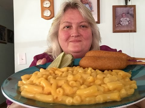 Mac & Cheese & Corn Dogs !! Plus I talk about a Shady Character !!