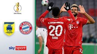 1. FC Düren - FC Bayern München | Highlights - DFB-Pokal 2020/21 | 1. Runde