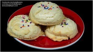 Easy AMAZING SOFT Sugar Cookies Recipe