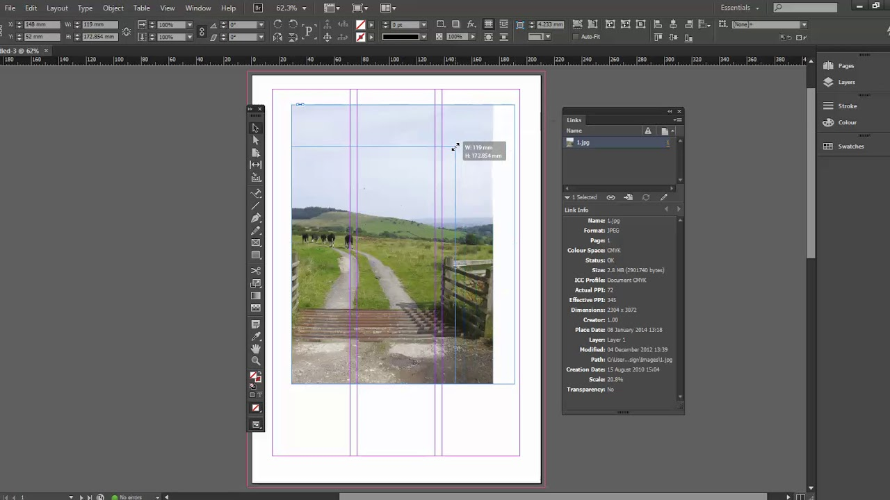 5 ways to scale images in Adobe InDesign - Creative Studio