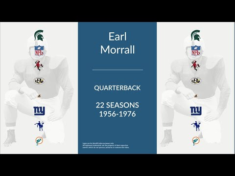 Earl Morrall: Football Quarterback