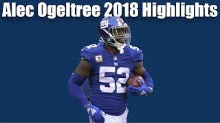 Alec Ogeltree Giants Highlights 2018