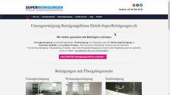 Wie Du die richtige Reinigungsfirma in Zürich für deine Umzugsreinigung findest