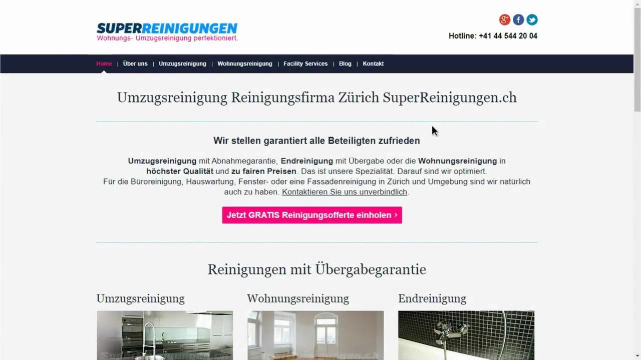 Wohnungsreinigung Liestal Bl Offerten Vergleichen