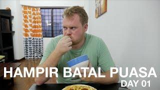 Rhys Hampir Batal Puasa