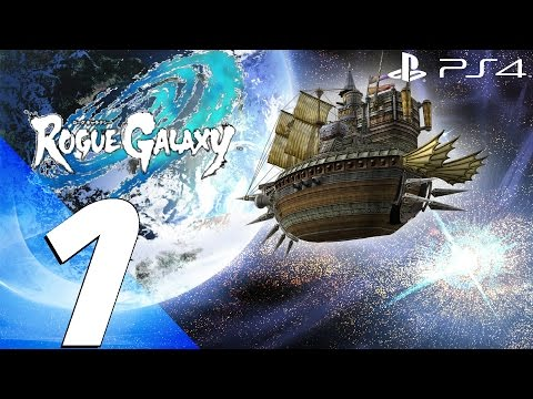 Rogue Galaxy PS4 - Gameplay Walkthrough Part 1 - Prologue [1080p 60fps]