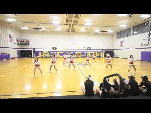 2014-15 Lehman Middle School Cheerleaders