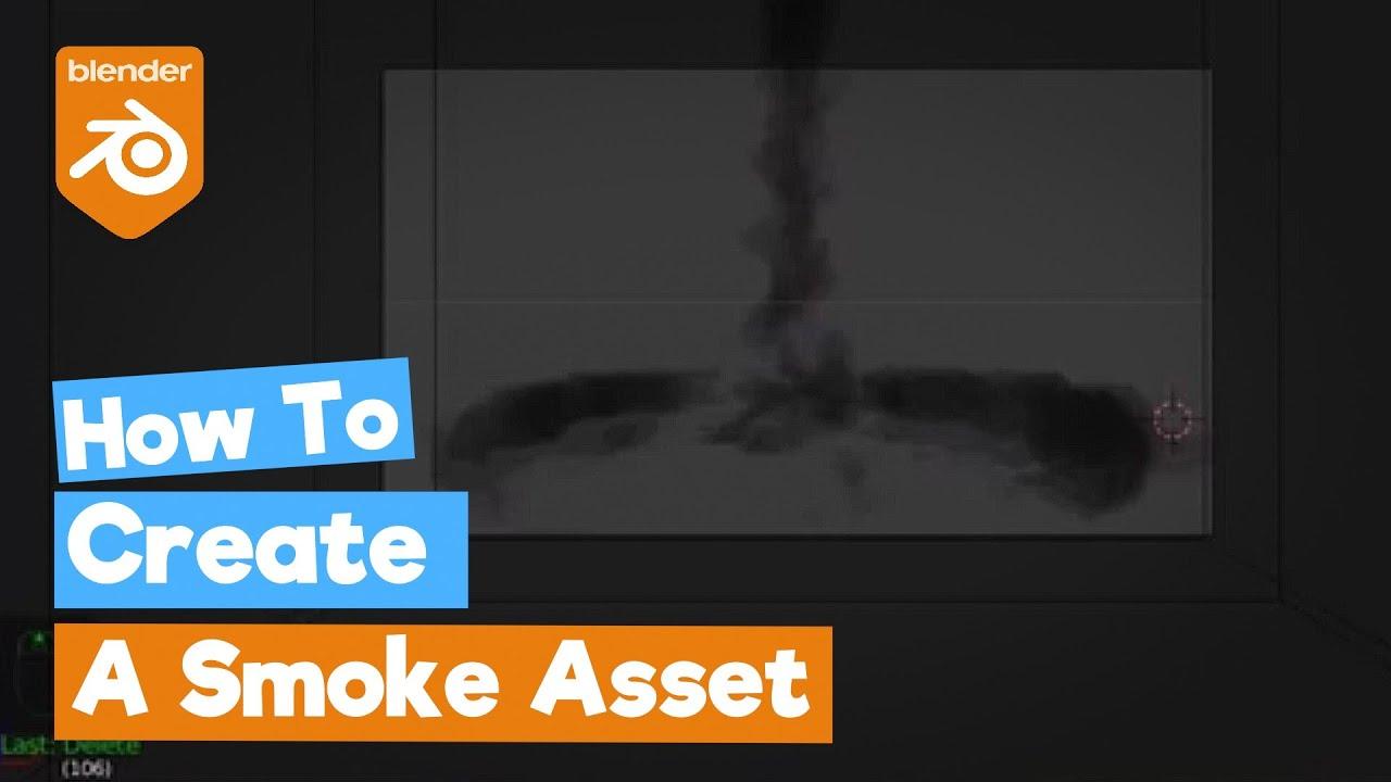How To Animate Smoke In Blender | Astar Tutorial