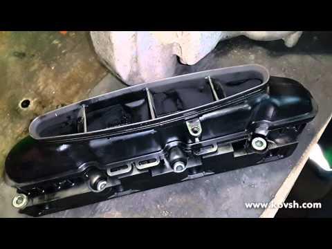 Ремонт впускного коллектора двигателя 2.1 ОМ 646 Mercedes Sprinter