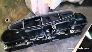 Ремонт впускного коллектора двигателя 2.1 ОМ 646 Mercedes Sprinter(Сайт СТО