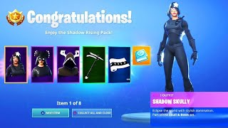 How to Get Shadow Rising Pack for FREE in Fortnite | PS4/Xbox