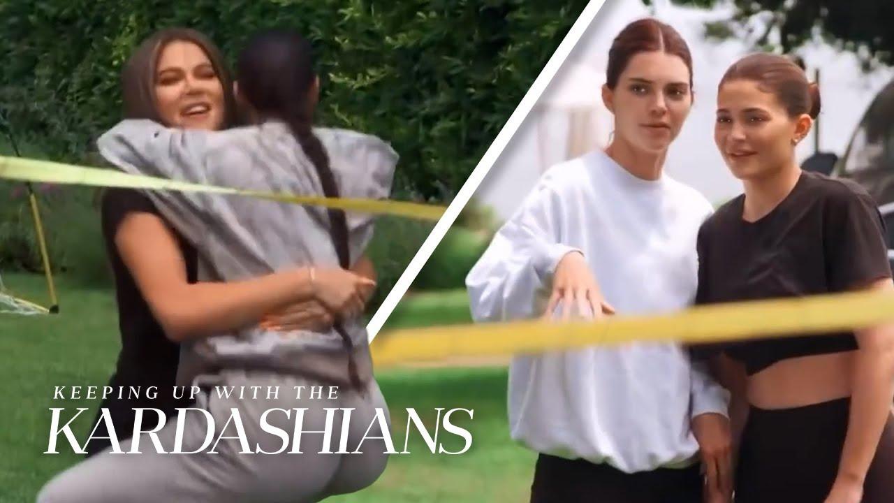 Kardashian-Jenner Sisters Compete Like It's the Olympics | KUWTK | E!