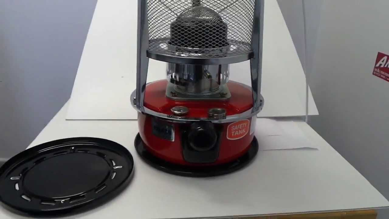 & Paseco WKH-2310 Kerosene Camping Heater - YouTube