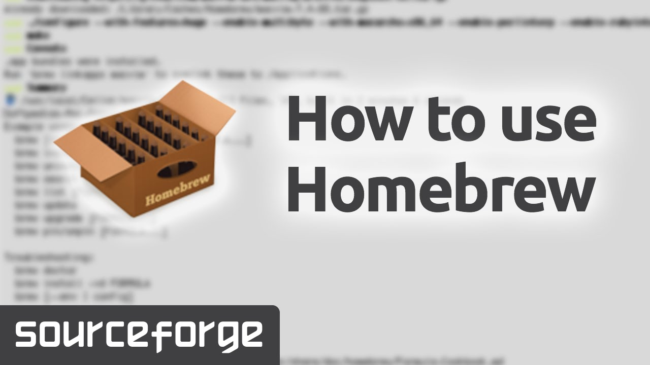 How to Use Homebrew for Mac