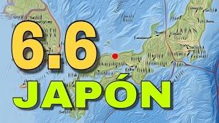 URGENTE I Intenso sismo de 6.6 se registró en Japón. Se activan protocolos de seguridad.