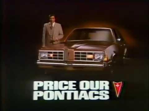 Pontiac LeMans 1978 TV commercial