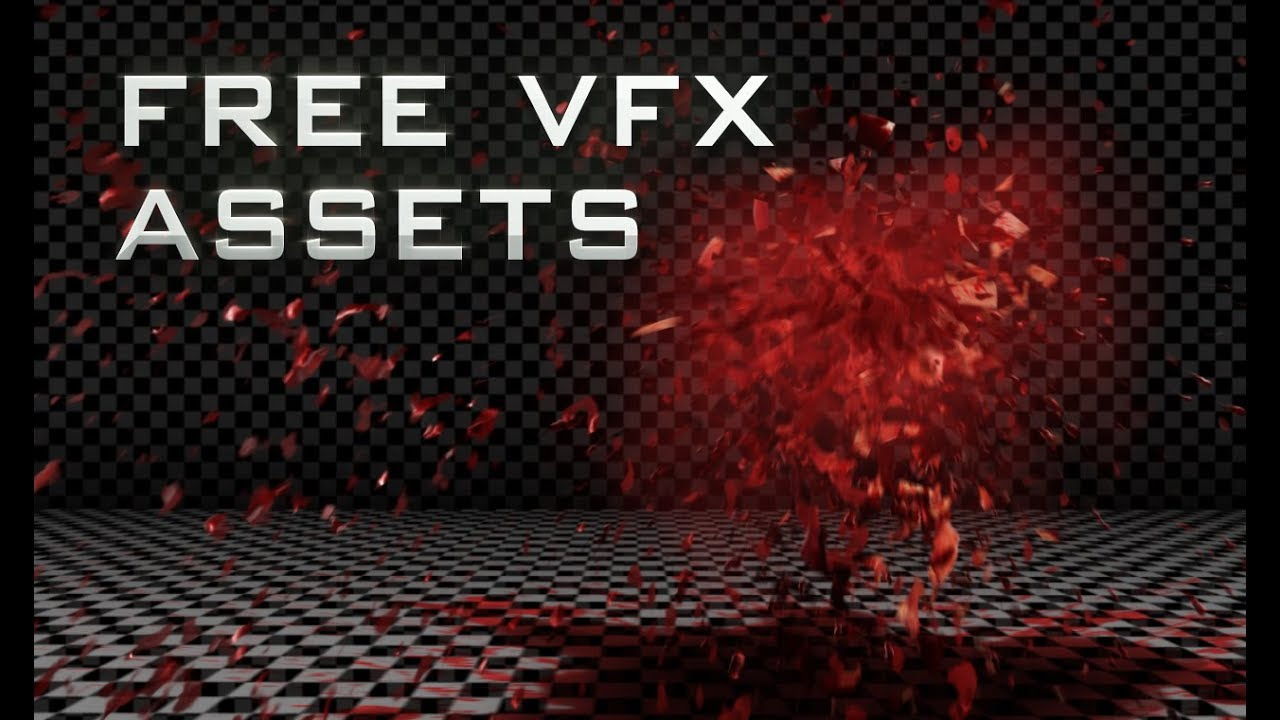 Free VFX Assets: Blood Effects
