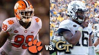 Clemson vs. Georgia Tech Preview