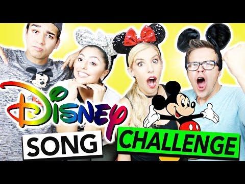 THE DISNEY SONG CHALLENGE!!