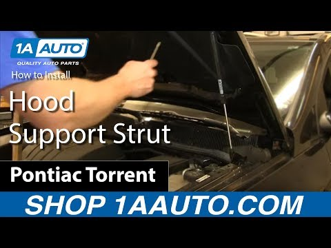 How to Replace Hood Lift Support 06-2009 Pontiac Torrent