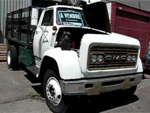 1967 Gmc 8500 Stake Bed Truck Start Up After 7 Months