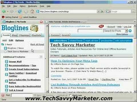 Rss Reader How To