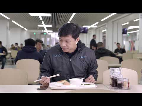 Robin Li Demonstrates Baidu