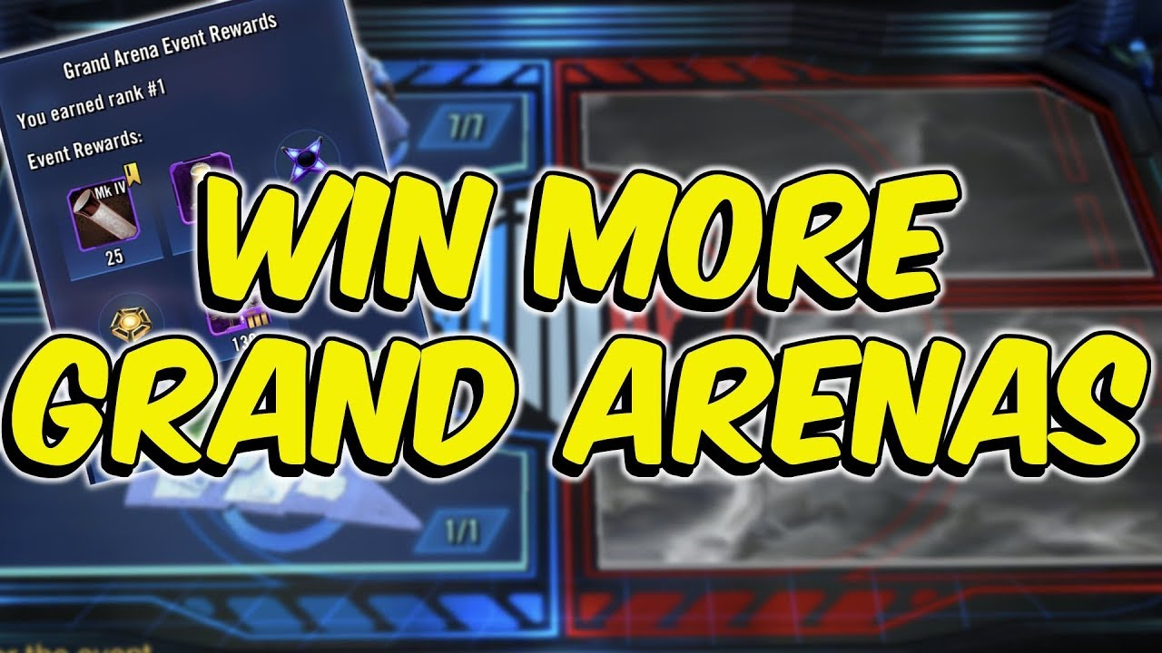 SWGOH Grand Arena: Win MORE!   Tips & Tricks   Star Wars: Galaxy of Heroes