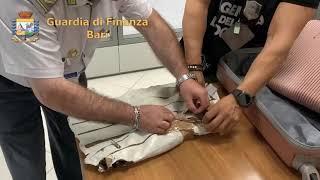 Aeroporto di Bari, sequestrati 3 chilogrammi di eroina