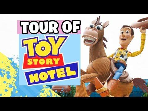 Tour of Toy Story Hotel in Shanghai Disney Resort 【 Travel to 上海迪士尼乐园 | 玩具总动员酒店 Vlogs 】