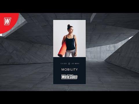 MOBILITY с Андреем Андреевым | 10 мая 2020 | Онлайн-тренировки World Class