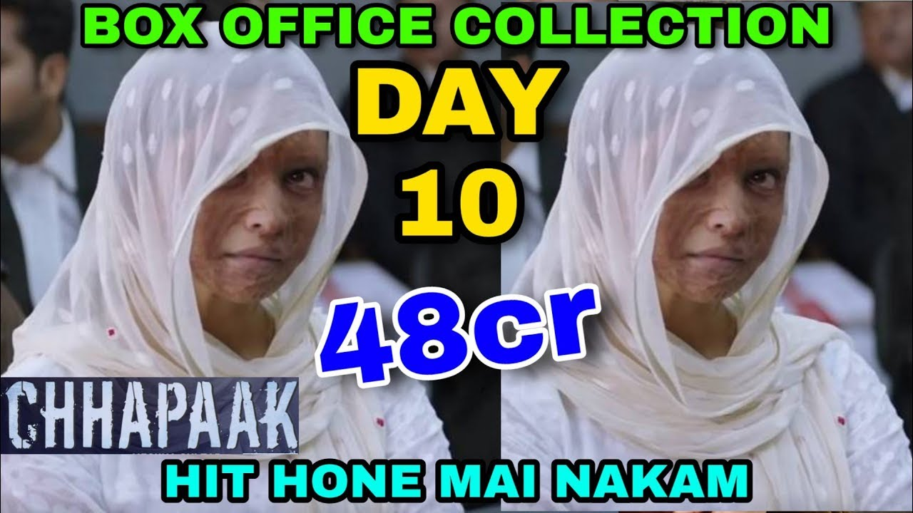 Chhapaak movie Box office business day 10   Hit/Flop ...