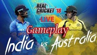 Real Cricket 18 stream || (Ind v Aus)