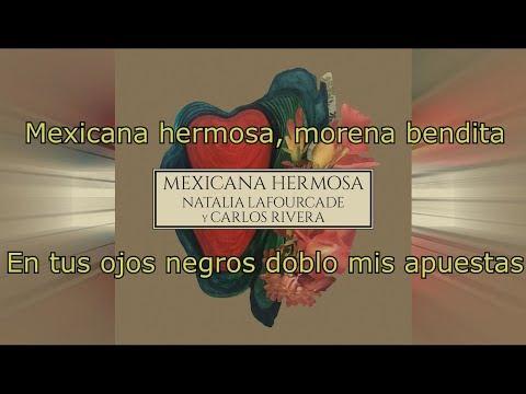 Mexicana Hermosa - Natalia Lafourcade (KARAOKE/LETRA)