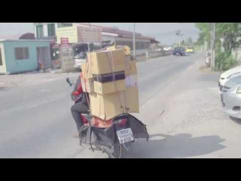 รูปภาพตัวอย่าง จาก VDO ไปรษณีย์ไทย เคียงคู่คนไทย