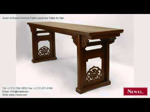 Asian Antique Console Table Japanese Tables for Sale YouTube