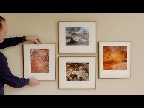 How To Hang A Level Picture Gallery Walls And Family Collage You