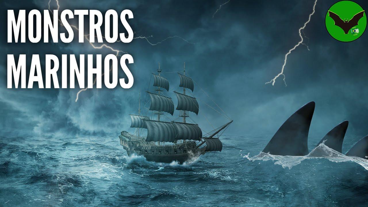 Navios que Encontraram Monstros Marinhos no Oceano