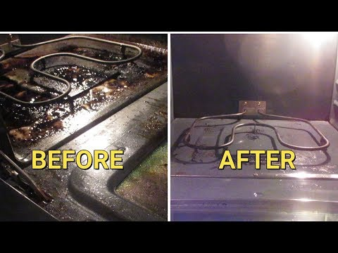 Use This TIP To Clean Your Oven FAST | Stove Top | Oven Racks | Glass Door