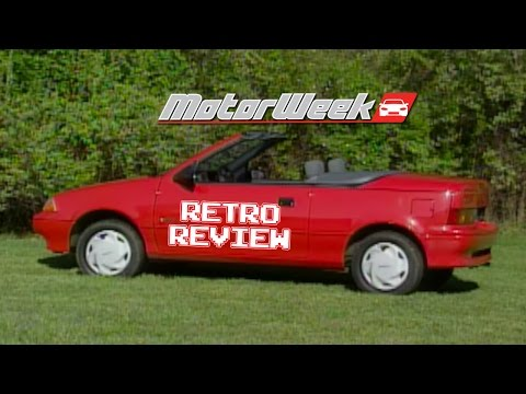 Retro Review: '91 Geo Metro Convertible