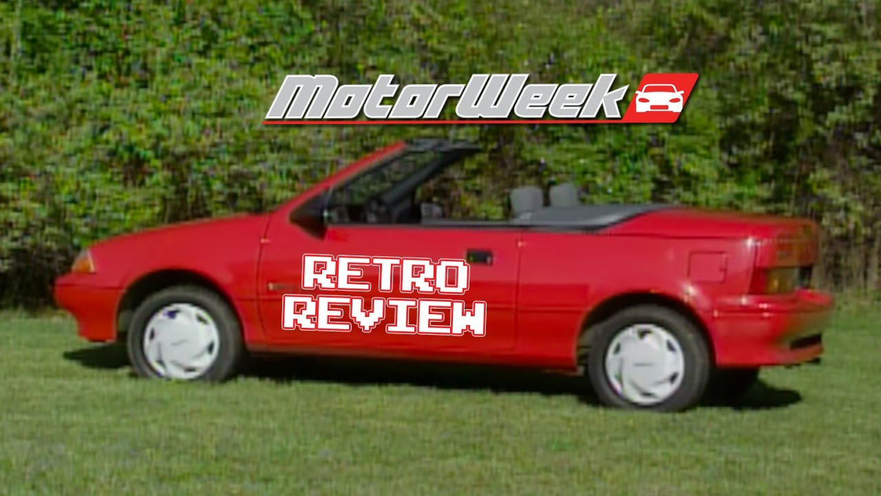 Retro review 91 geo metro convertible youtube retro review 91 geo metro convertible sciox Choice Image