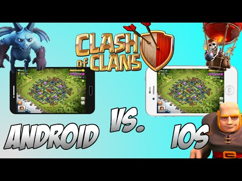 Clash of Clans Android vs IOS What's The Difference?