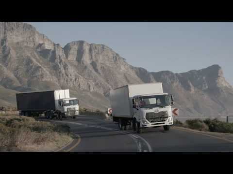 UD Trucks – Croner on the road with Darling Romery